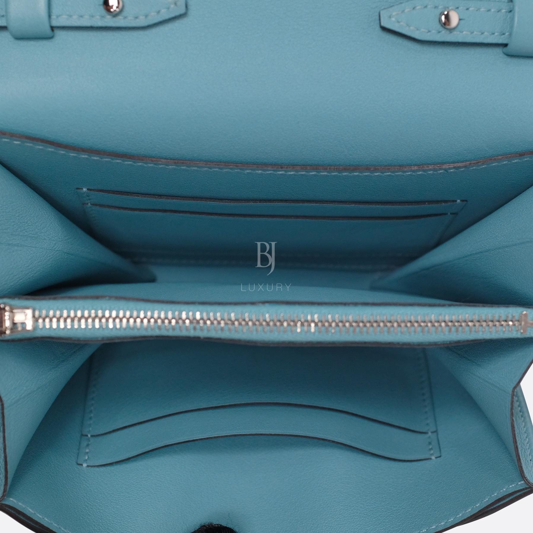 Hermes Conveyor Bag 16 Turquoise Swift Lizard Palladium BJ Luxury 16.jpg