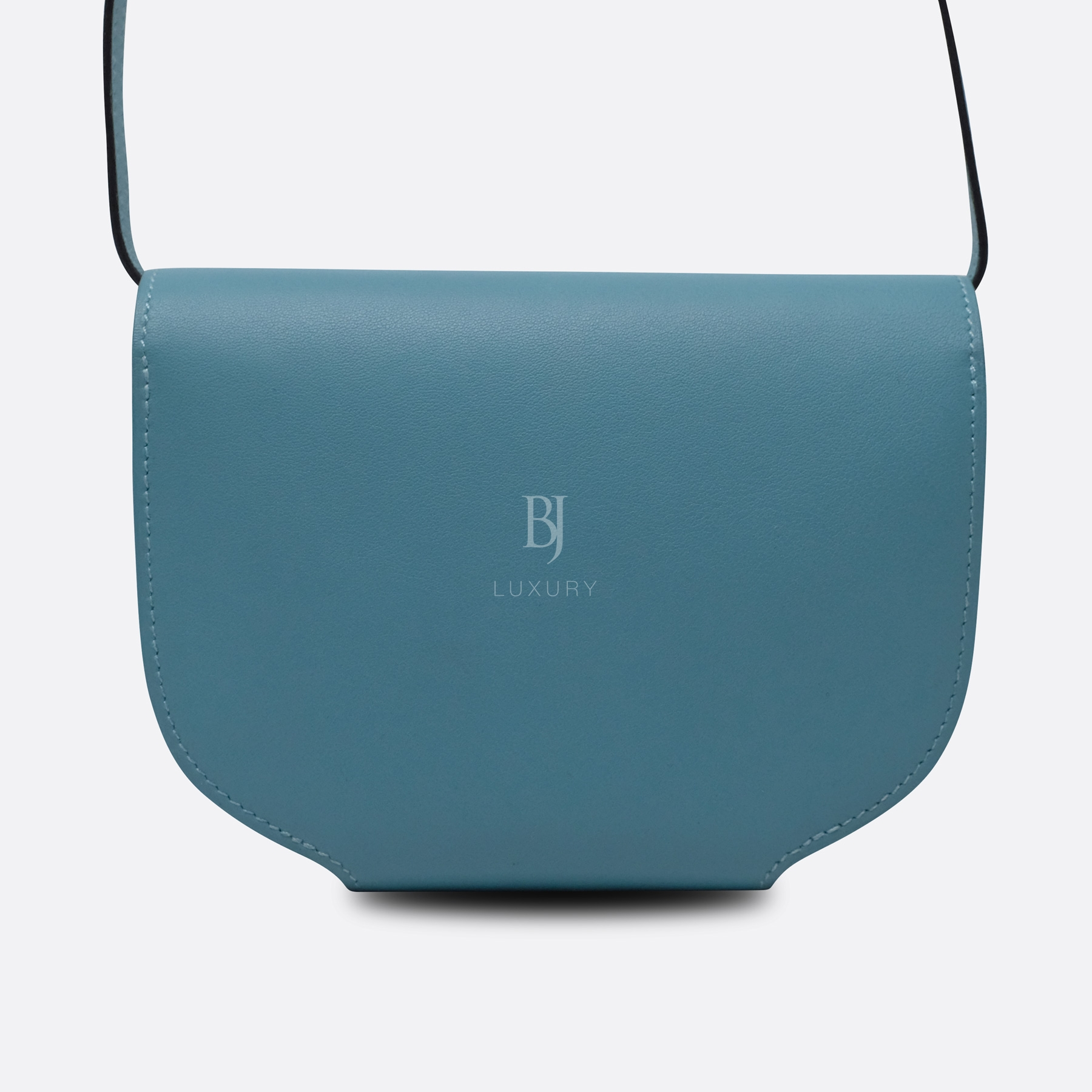 Hermes Conveyor Bag 16 Turquoise Swift Lizard Palladium BJ Luxury 5.jpg