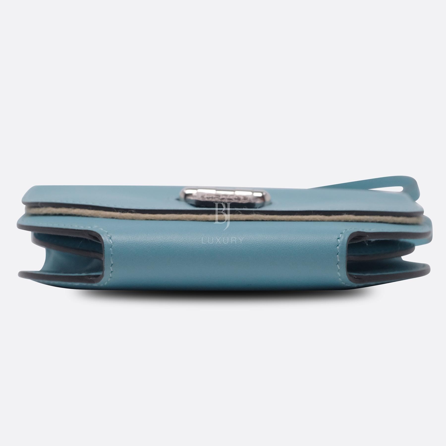 Hermes Conveyor Bag 16 Turquoise Swift Lizard Palladium BJ Luxury 6.jpg