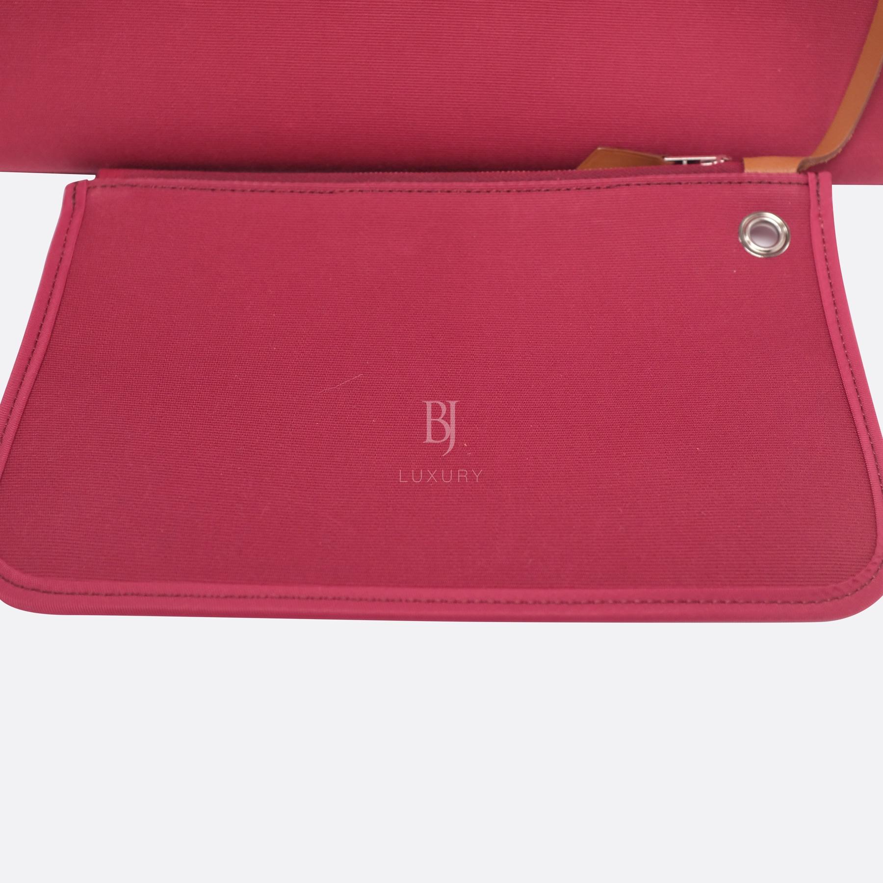 Hermes Herbag 31 Rubis Canvas Vache Palladium BJ Luxury 18.jpg