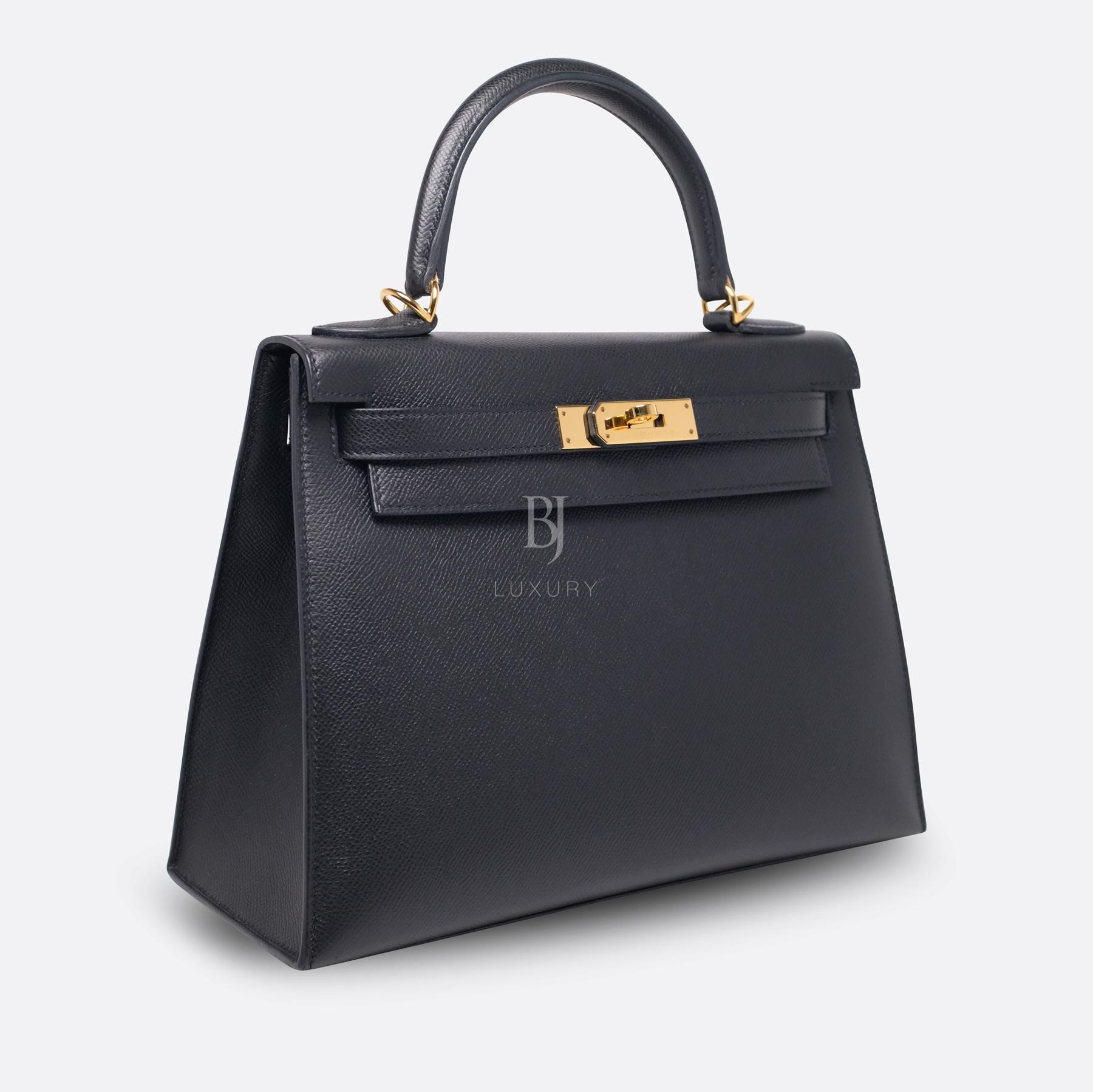 Hermes Kelly Sellier 28 Black Epsom Gold BJ Luxury 11.jpg