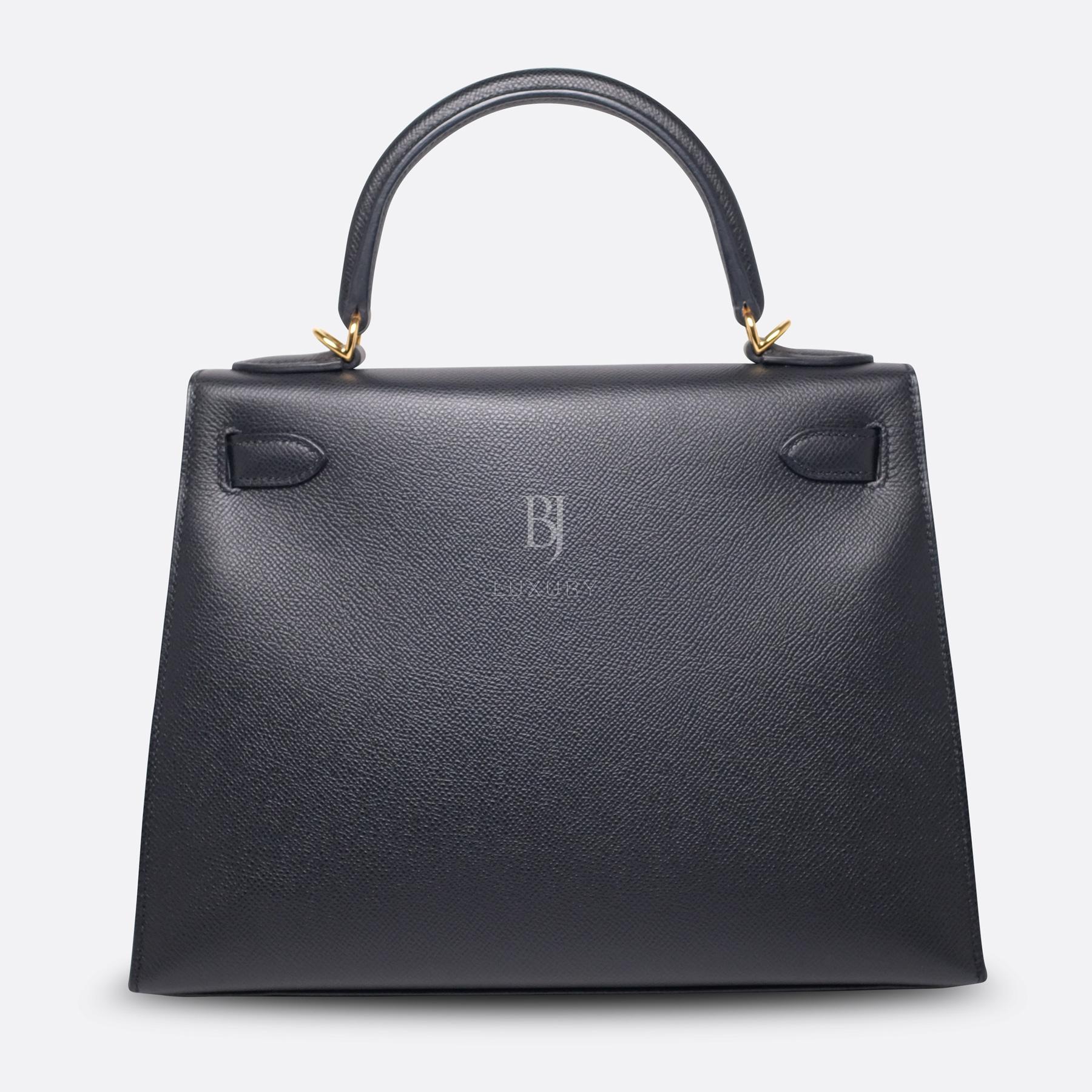 Hermes Kelly Sellier 28 Black Epsom Gold BJ Luxury 13.jpg