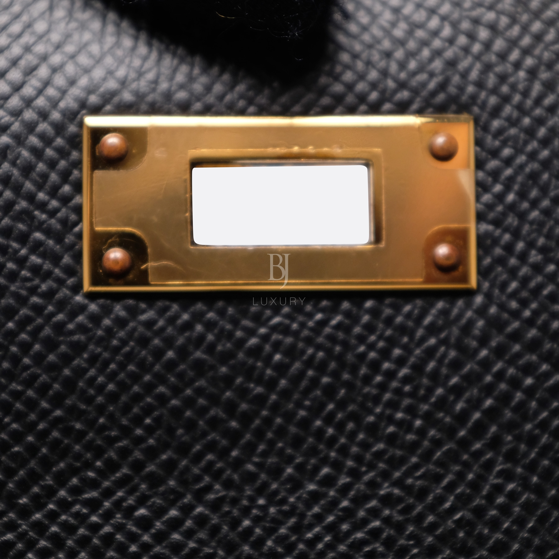 Hermes Kelly Sellier 28 Black Epsom Gold BJ Luxury 6.jpg