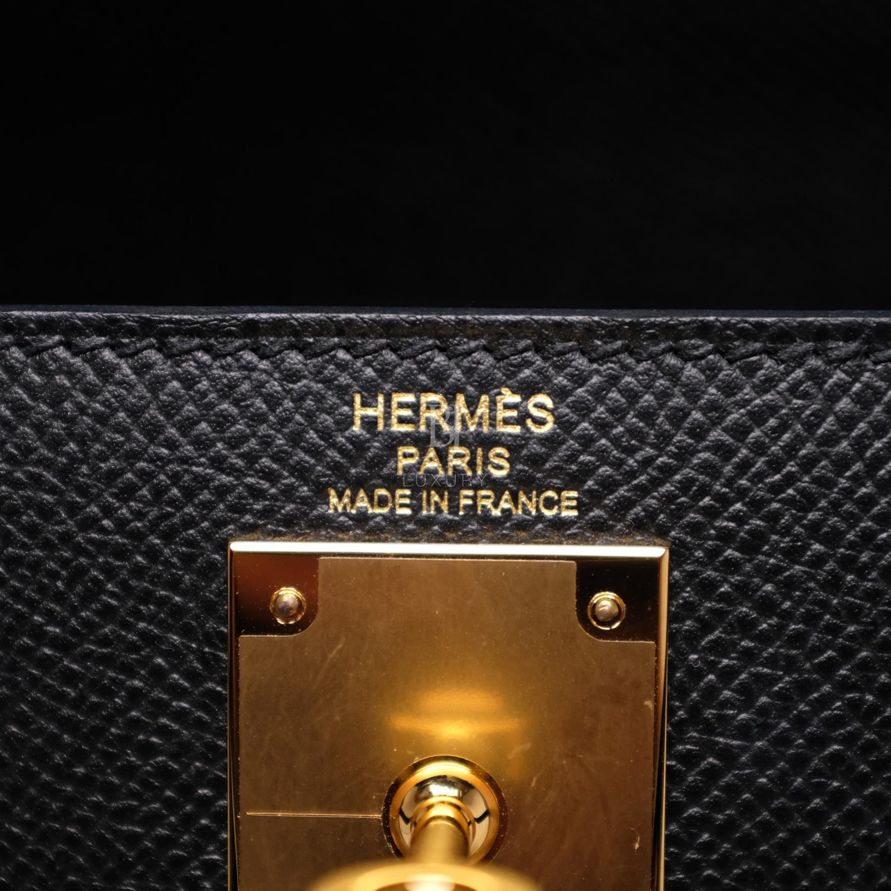 Hermes Kelly Sellier 28 Black Epsom Gold BJ Luxury 7.jpg