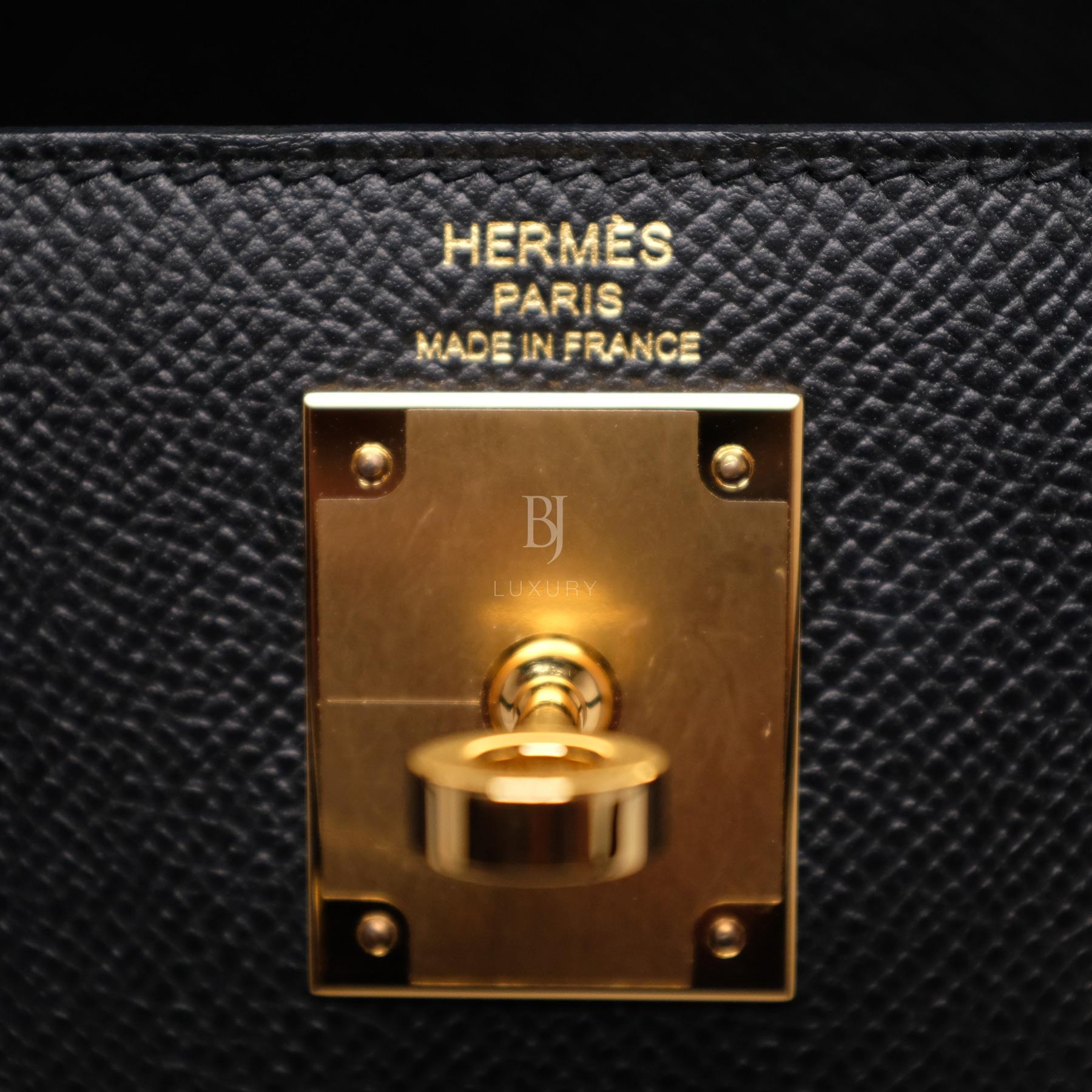 Hermes Kelly Sellier 28 Black Epsom Gold BJ Luxury 8.jpg