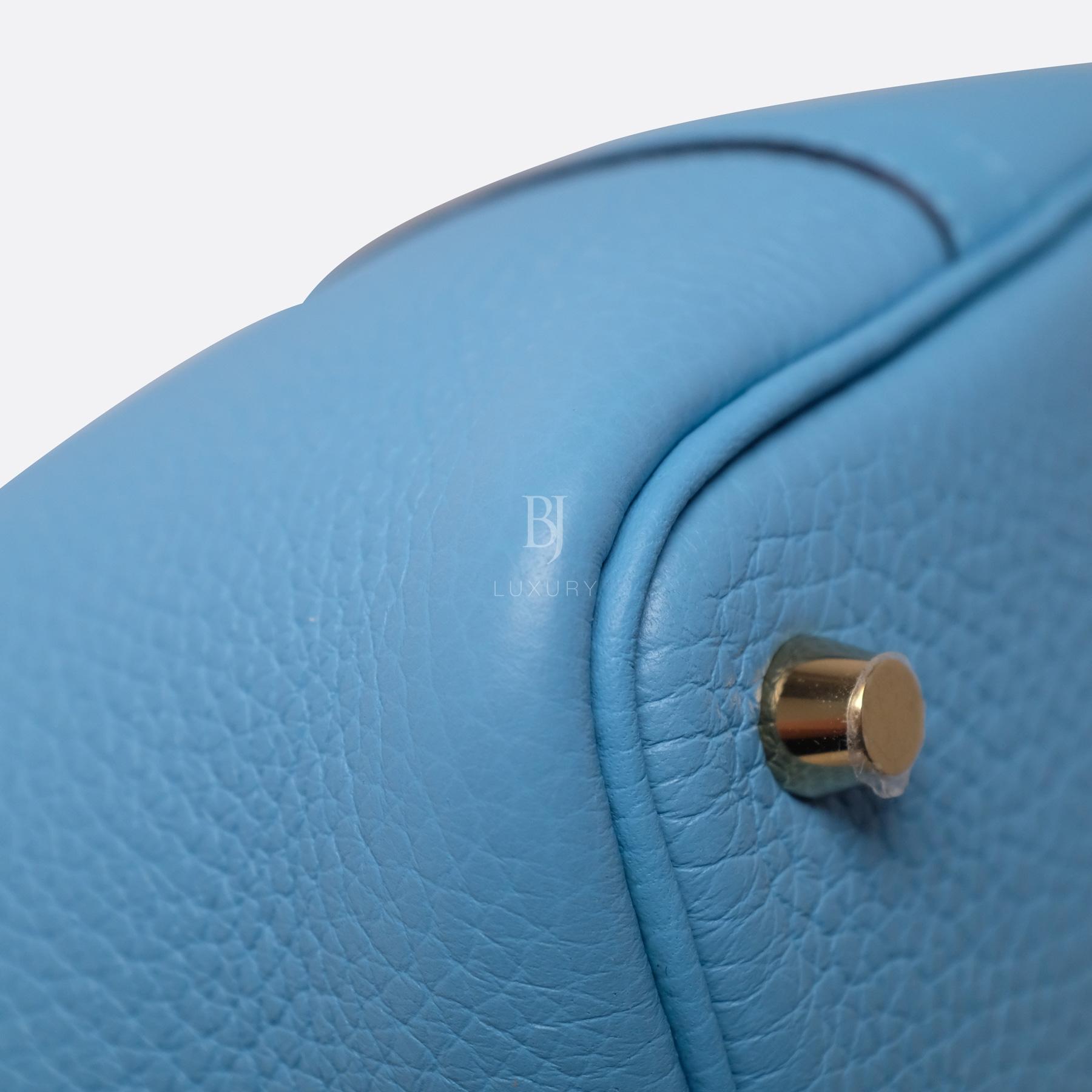 Hermes Picotin 18 Bleu Du Nord Clemence Gold BJ Luxury 10.jpg