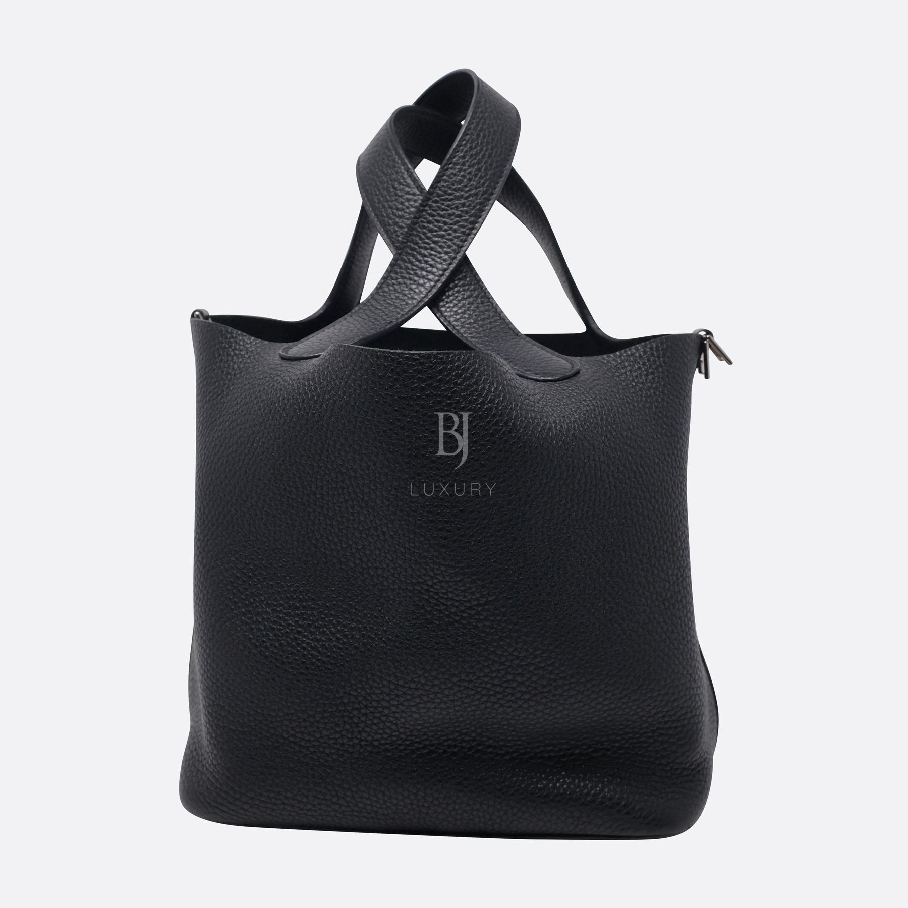 Hermes Picotin 22 Palladium Clemence BJ Luxury 3.jpg
