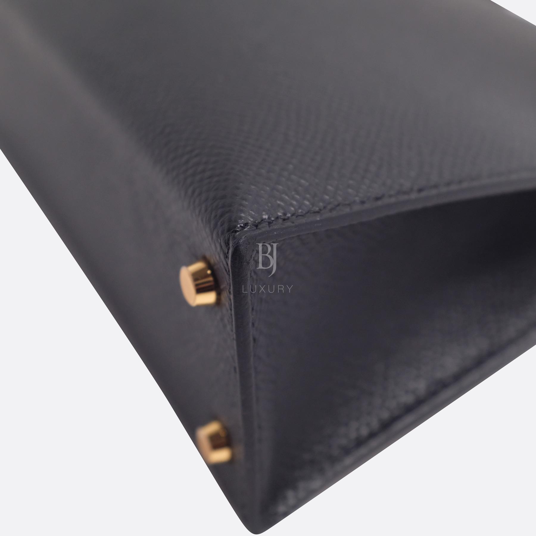 Hermes Kelly Sellier 20 Black Gold Hardware Epsom 10 BJ Luxury.jpg