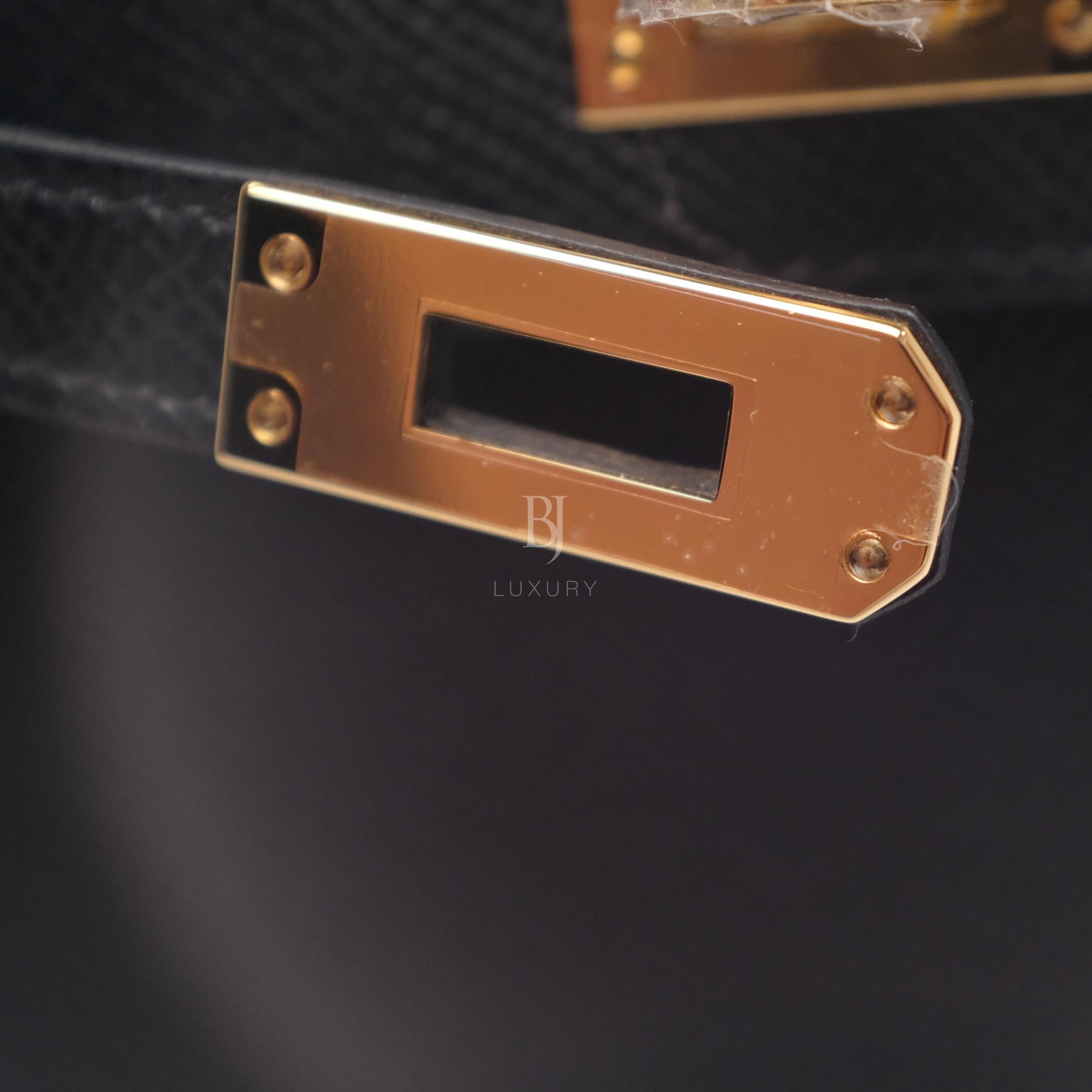 Hermes Kelly Sellier 20 Black Gold Hardware Epsom 12 BJ Luxury.jpg