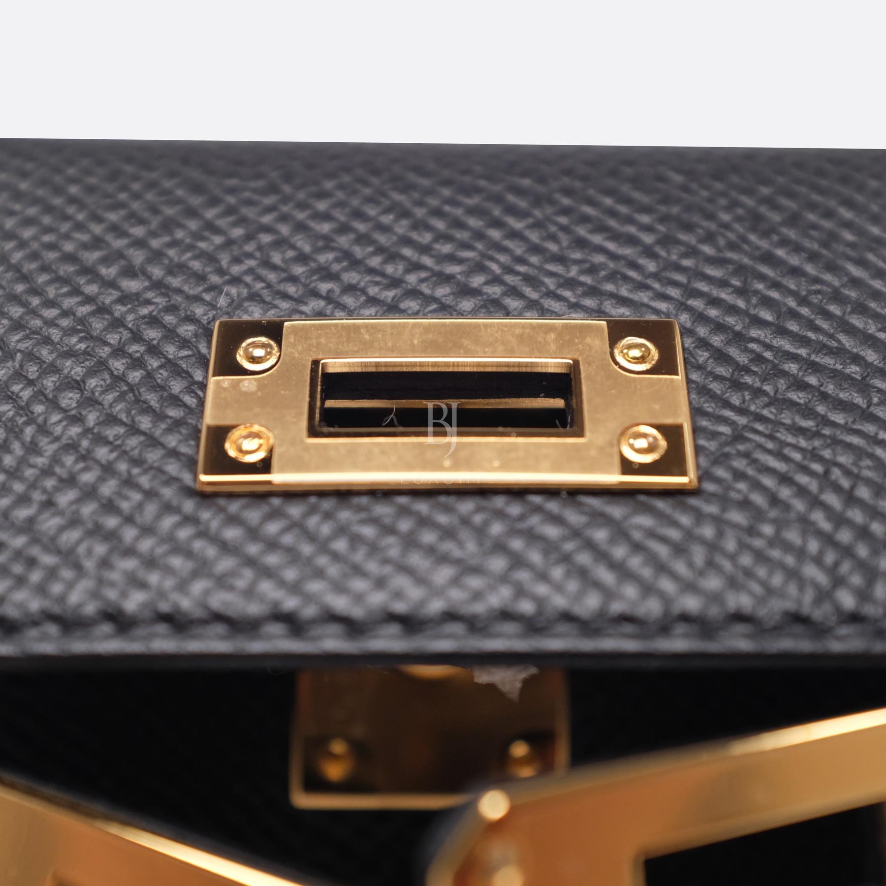 Hermes Kelly Sellier 20 Black Gold Hardware Epsom 13 BJ Luxury.jpg