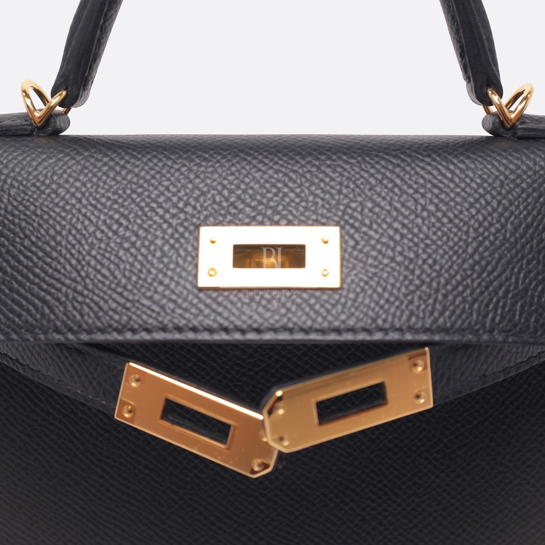 Hermes Kelly Sellier 20 Black Gold Hardware Epsom 14 BJ Luxury.jpg