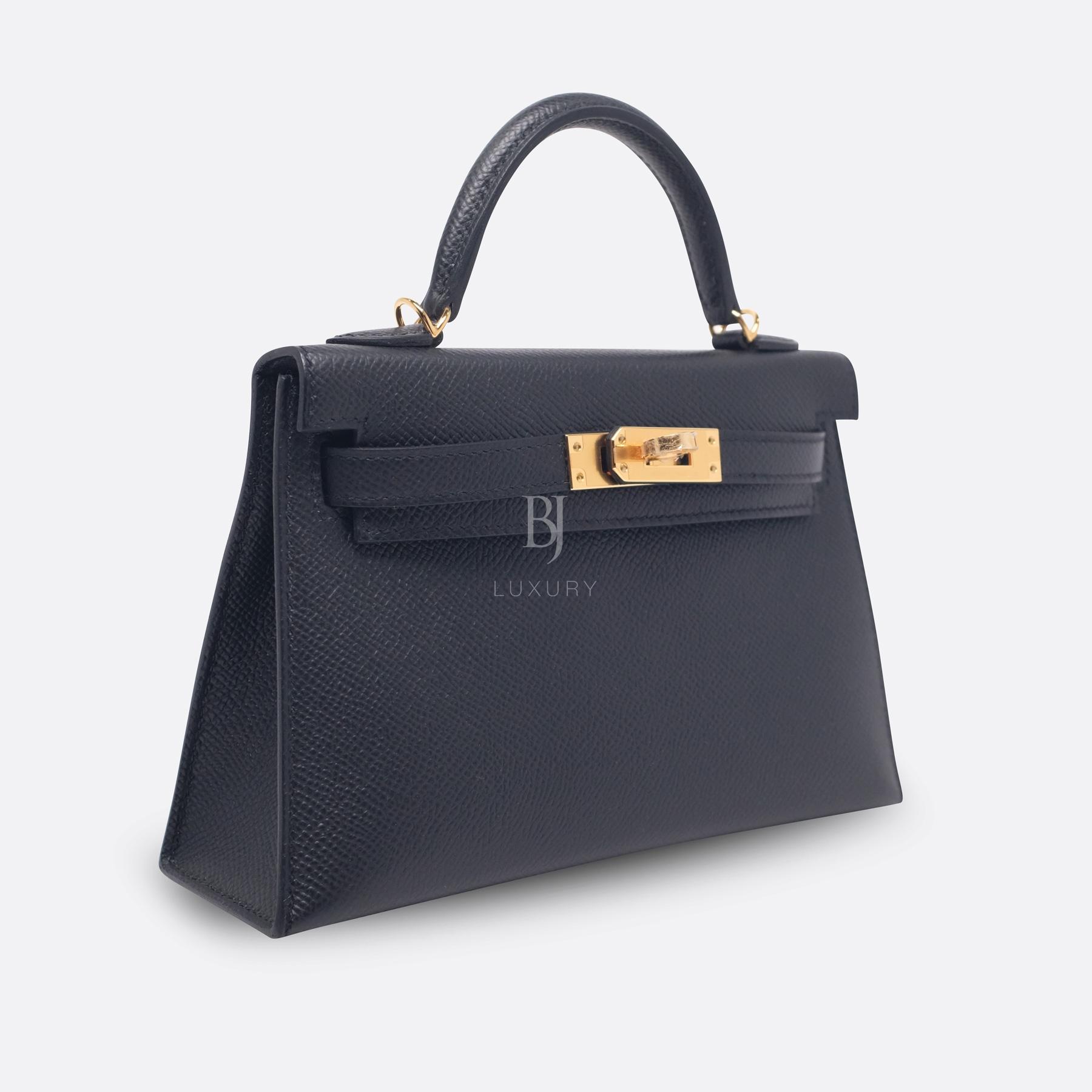 Hermes Kelly Sellier 20 Black Gold Hardware Epsom 2 BJ Luxury.jpg