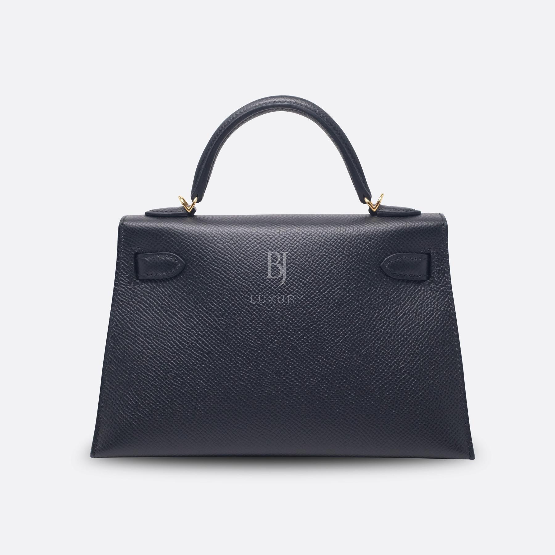 Hermes Kelly Sellier 20 Black Gold Hardware Epsom 4 BJ Luxury.jpg