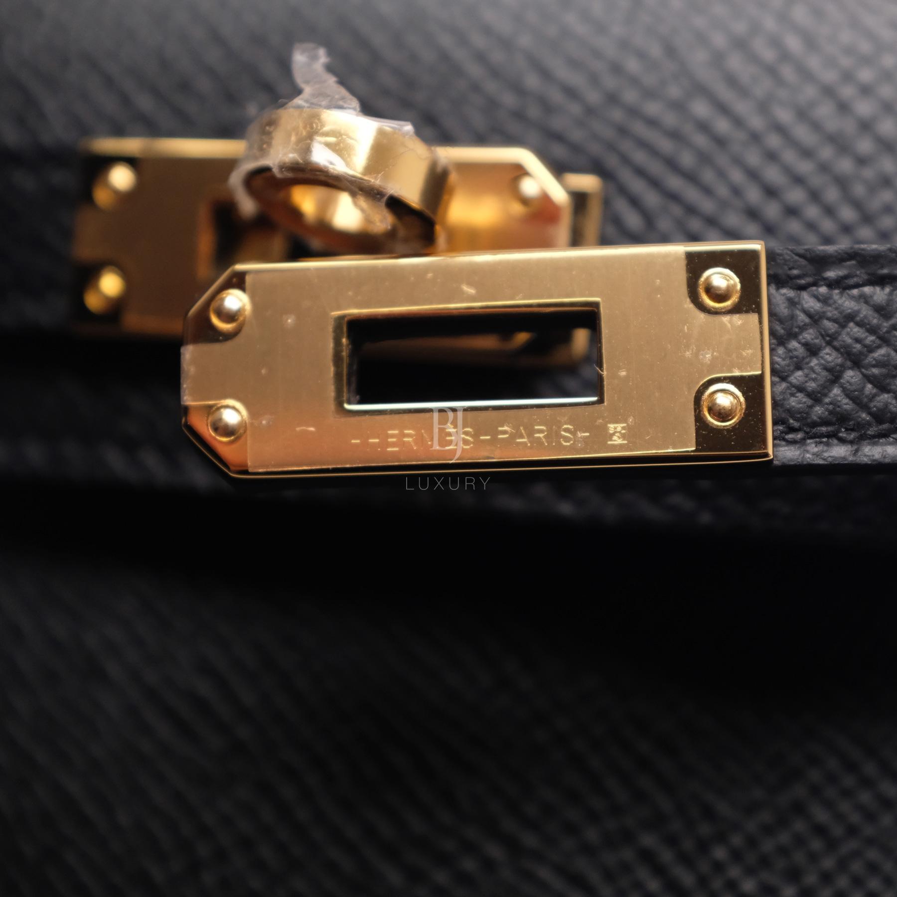 Hermes Kelly Sellier 20 Black Gold Hardware Epsom 9 BJ Luxury.jpg